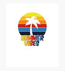 Summer vibes Photographic Print