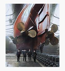 RMS Mauretania, 1909. Photographic Print