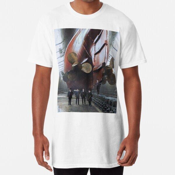 RMS Mauretania, 1909. Long T-Shirt