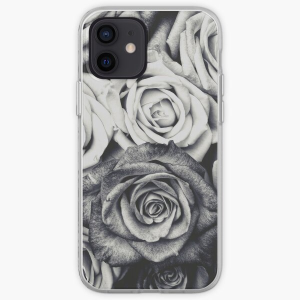 motif floral vintage. Coque souple iPhone