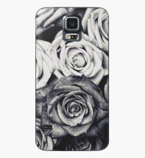 Rosen Hülle & Klebefolie für Samsung Galaxy