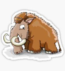 A cool Mammouth  Sticker