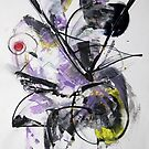 Times change, abstract painting by Dmitri Matkovsky