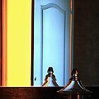Bathroom mirror by Etienne RUGGERI Artwork