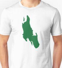 Zanzibar map Unisex T-Shirt