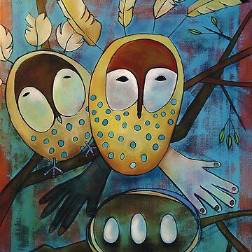 Oracle Owls by madaramason