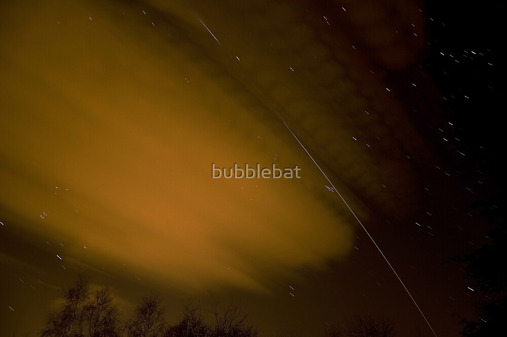 ISS Fly Past by bubblebat