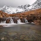 Fairy Pools, Isle of Skye in Winter by derekbeattie