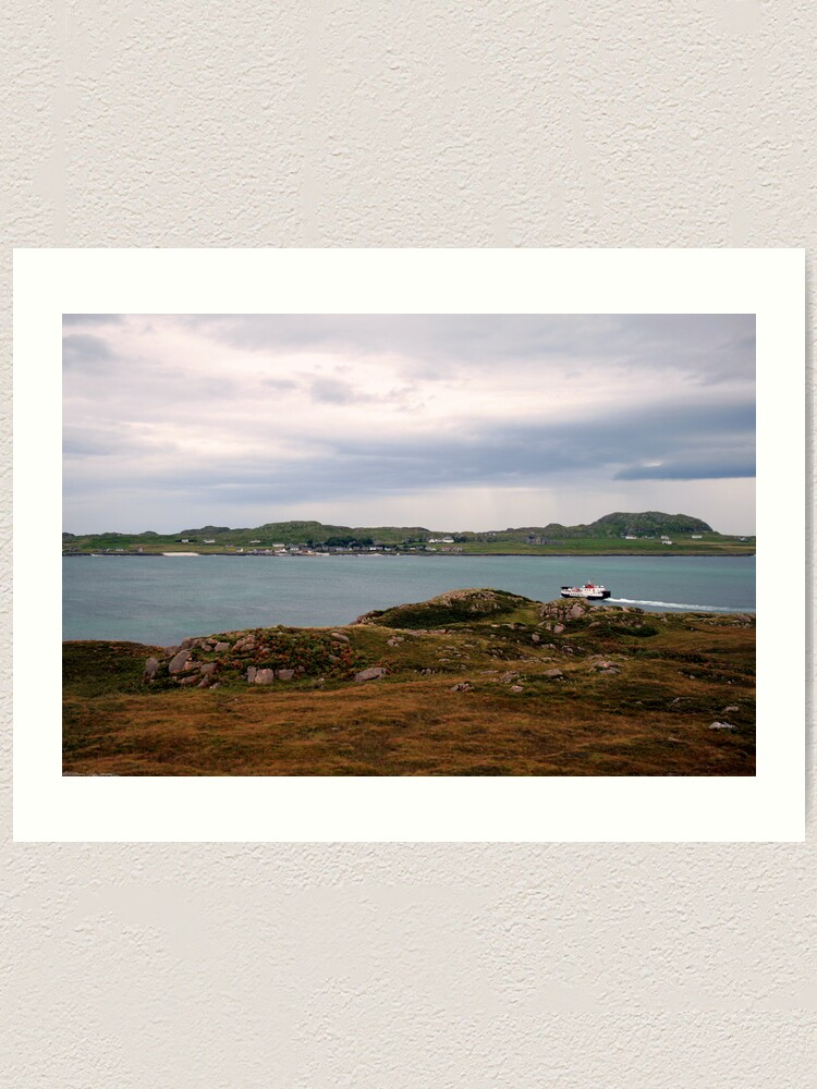 Alternate view of Ferry  to Iona Art Print