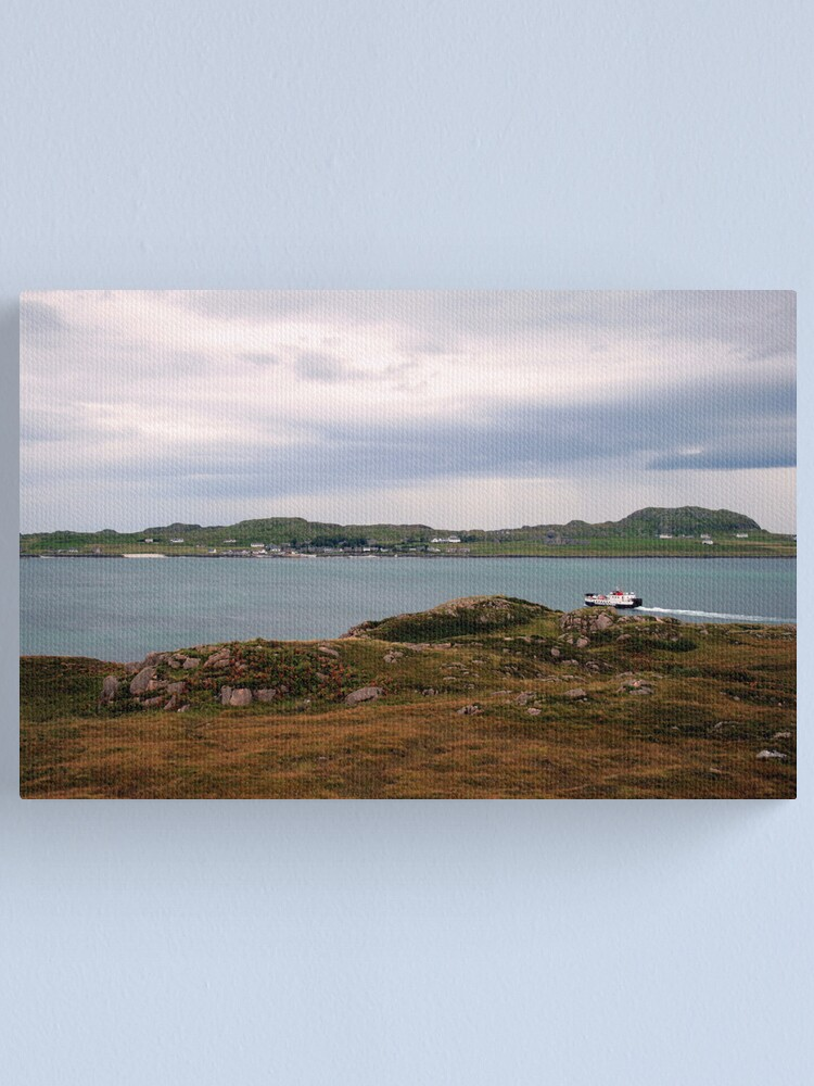 Alternate view of Ferry  to Iona Canvas Print