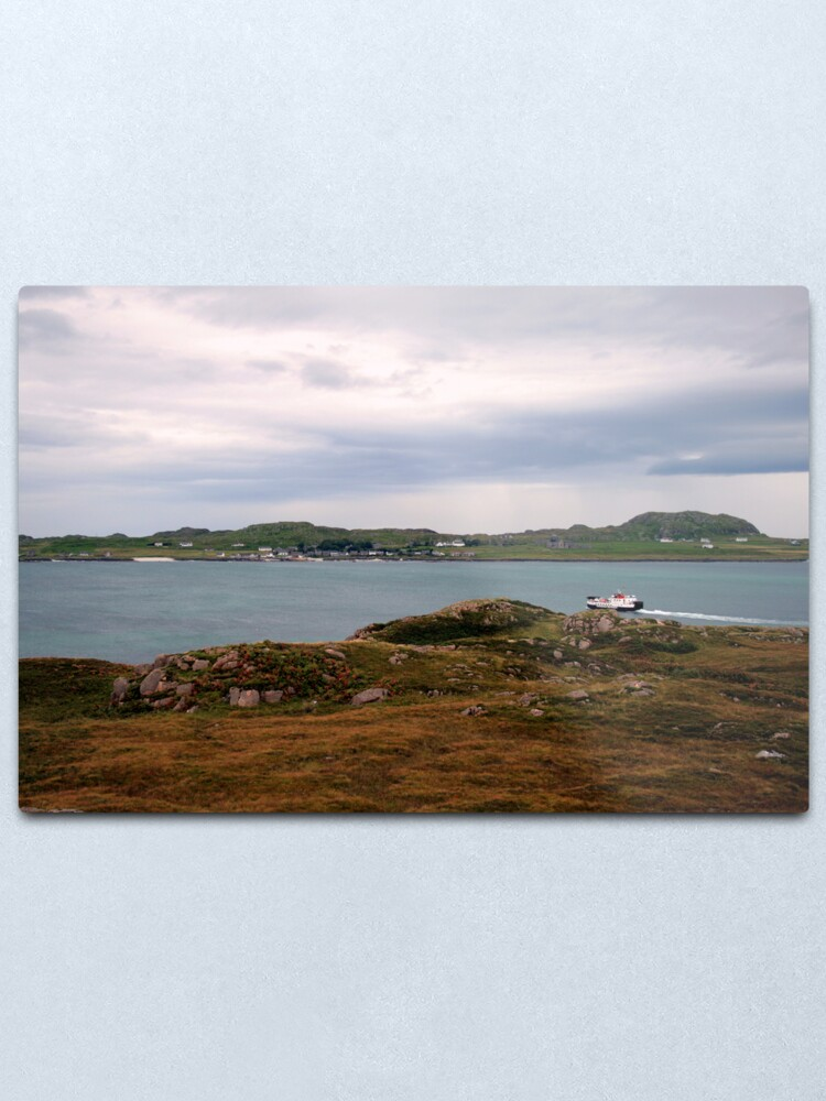 Alternate view of Ferry  to Iona Metal Print