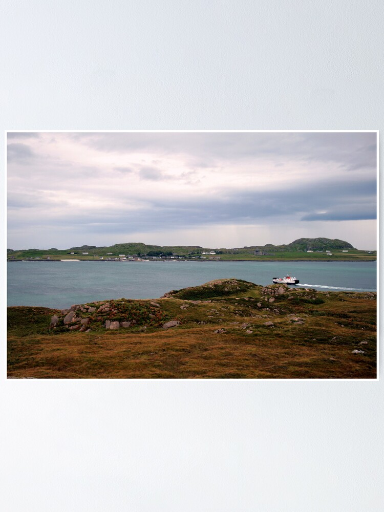 Alternate view of Ferry  to Iona Poster