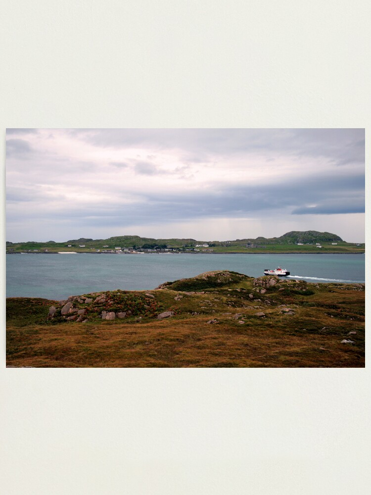 Alternate view of Ferry  to Iona Photographic Print