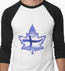 Finnish Canadian Men's Baseball ¾ T-Shirt