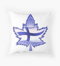 Finnish Canadian Throw Pillow