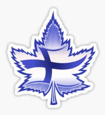 Finnish Canadian Sticker