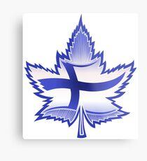 Finnish Canadian Metal Print