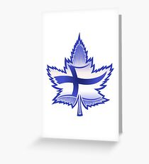 Finnish Canadian Greeting Card