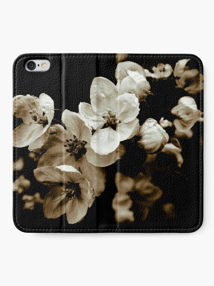 Alternate view of Apple Blossom iPhone Wallet