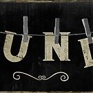 Laundry Wood Sign II by mindydidit