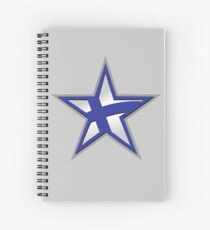 Finnish American Star Spiral Notebook