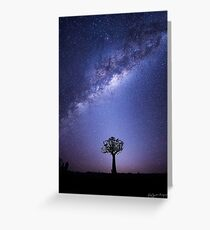 The Zodiacal Glow Greeting Card