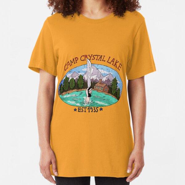 Lac de cristal de camp T-shirt ajusté