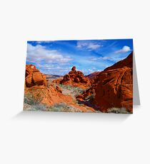 Valley Of Fire State Park, Nevada Greeting Card