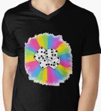 Dice! :) Men's V-Neck T-Shirt