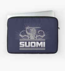 Suomi Finland Lion V2 Laptop Sleeve