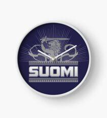 Suomi Finland Lion V2 Clock