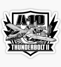 A-10 Thunderbolt II Sticker