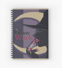 Glamorous Witch Spiral Notebook