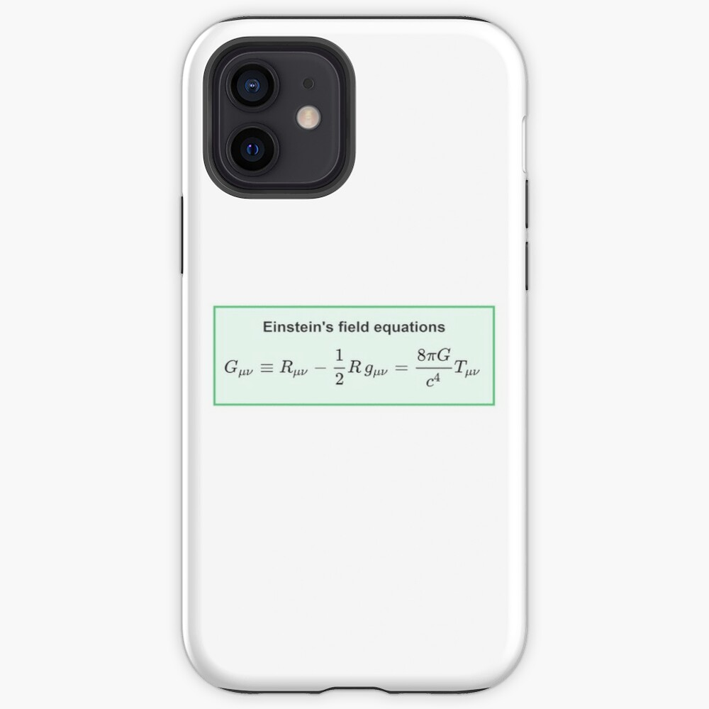 Physics, General Relativity, Einsteins (Field) Equations, #Physics, #General #Relativity, #Einstein's (#Field) #Equations iPhone Case