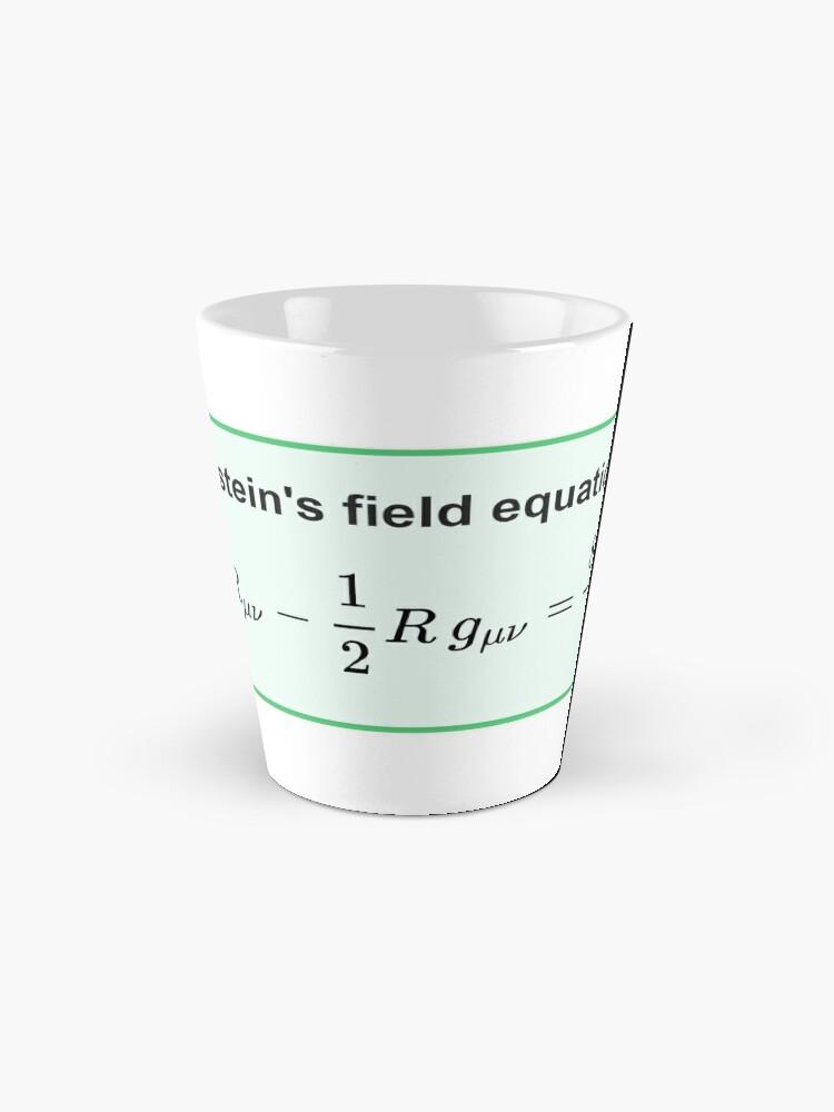 Alternate view of Physics, General Relativity, Einsteins (Field) Equations, #Physics, #General #Relativity, #Einstein's (#Field) #Equations Mug