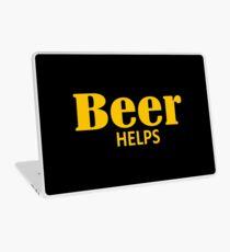 Beer Helps Laptop Skin