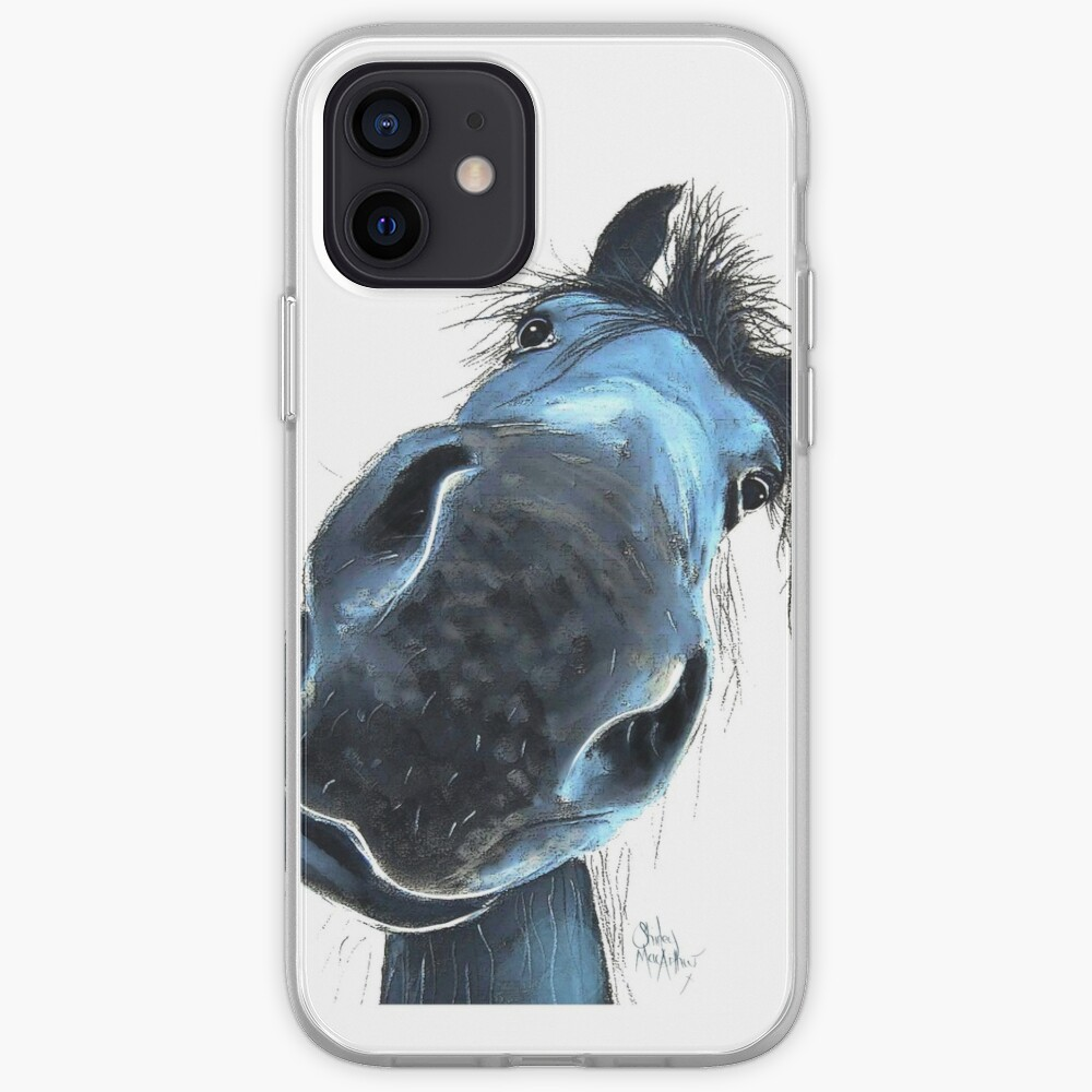 HoRSe PRiNT ' HaPPY BuRT ' BY SHiRLeY MacARTHuR iPhone Case & Cover