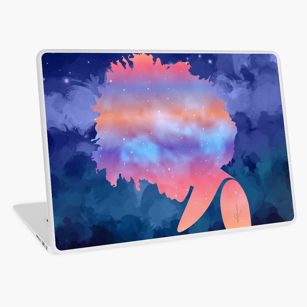 Woman of the Universe Laptop Skin