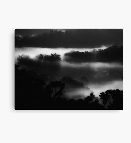 """Midnight Mist"" Canvas Print"