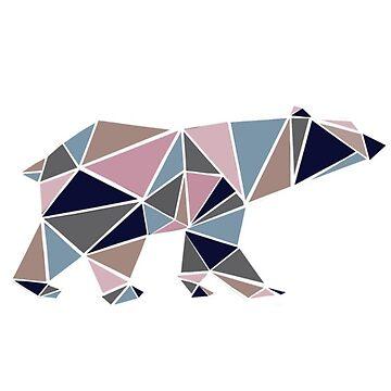 Mosaic bear by KWhaleBone