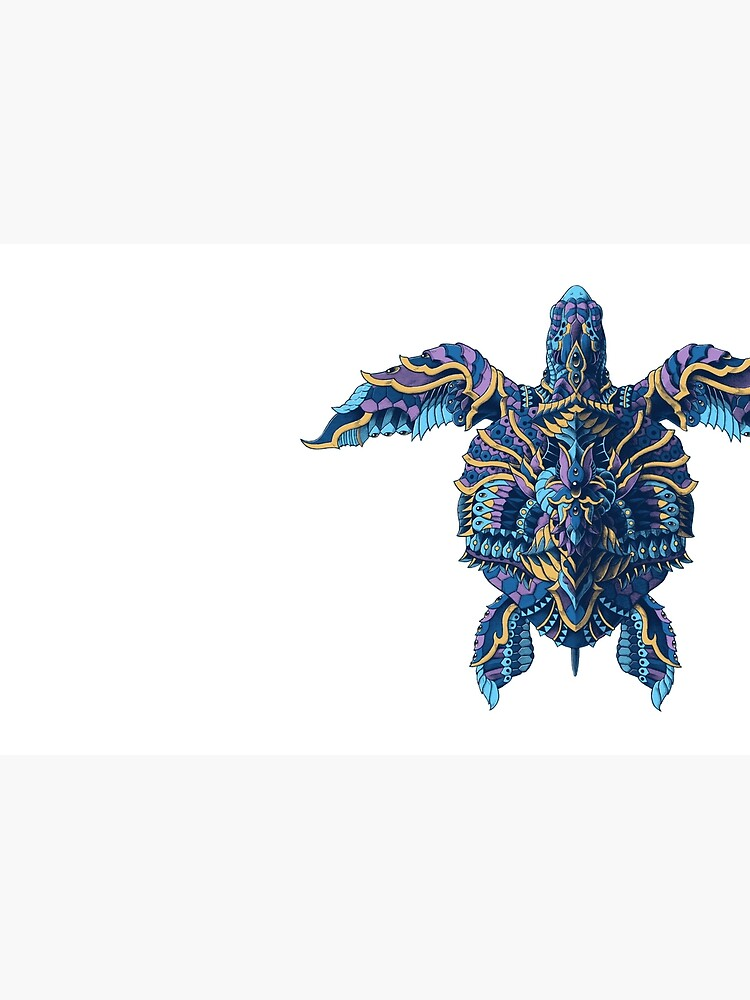 Tortuga marina (Versión en color) de BioWorkZ