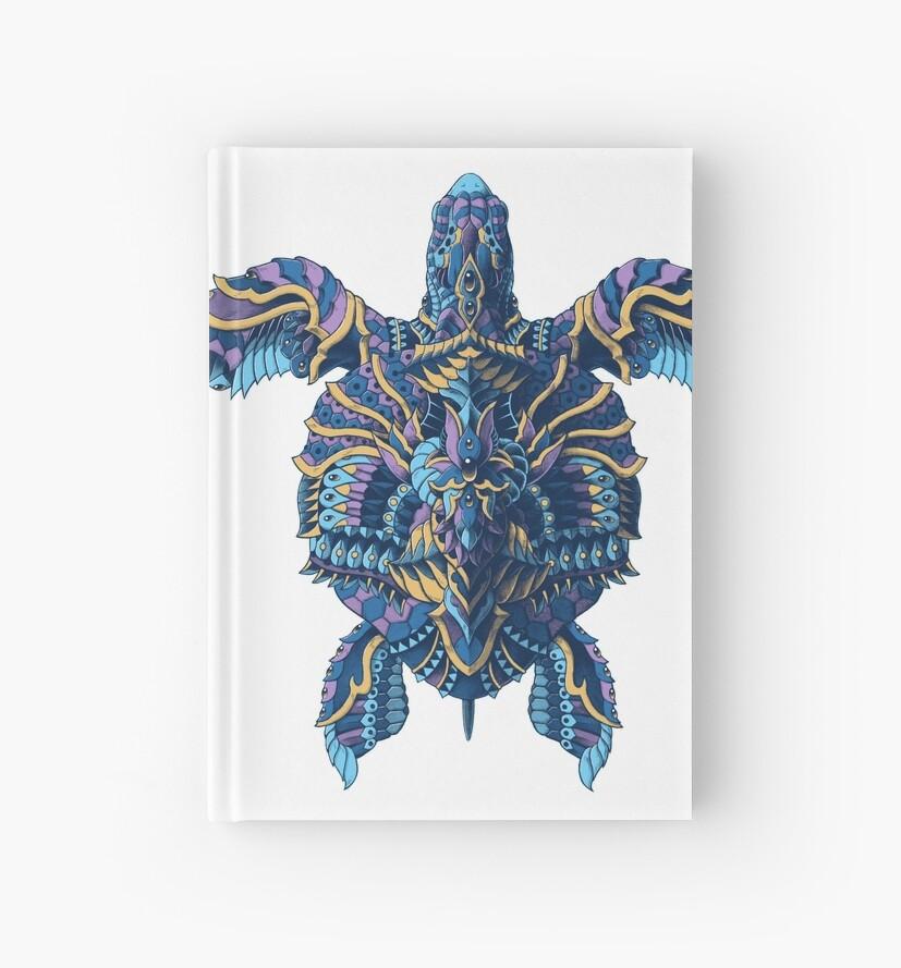 Cuadernos de tapa dura «Tortuga marina (Versión en color)» de ...