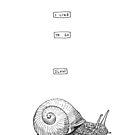 Go slow by Yael Kisel