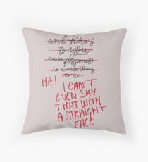 TIWWCHNT Throw Pillow