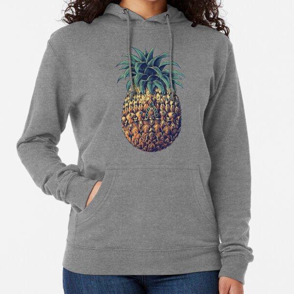 Ornate Pineapple (Color Version) Lightweight Hoodie