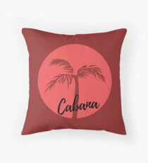 Cabana (Red) Floor Pillow
