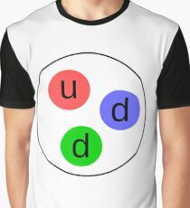 Neutron,  Subatomic Particle, Nuclear Physics Graphic T-Shirt