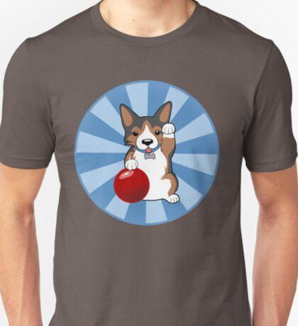 Maneki Corgi (Tricolor) T-Shirt