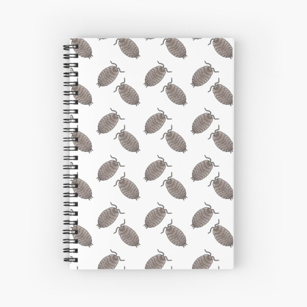 Isopode pattern W Spiral Notebook