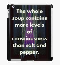 Conscious Soup  iPad Case/Skin